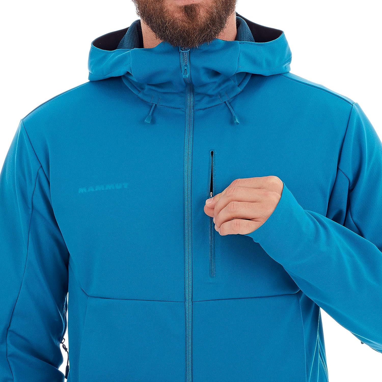 Mammut Herren Ultimat V Hooded Softshell-Jacke mit Kapuze