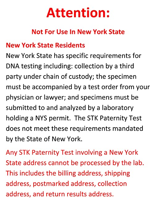 STK Paternity Test Kit - Includes All Lab Fees: Amazon ca: Baby