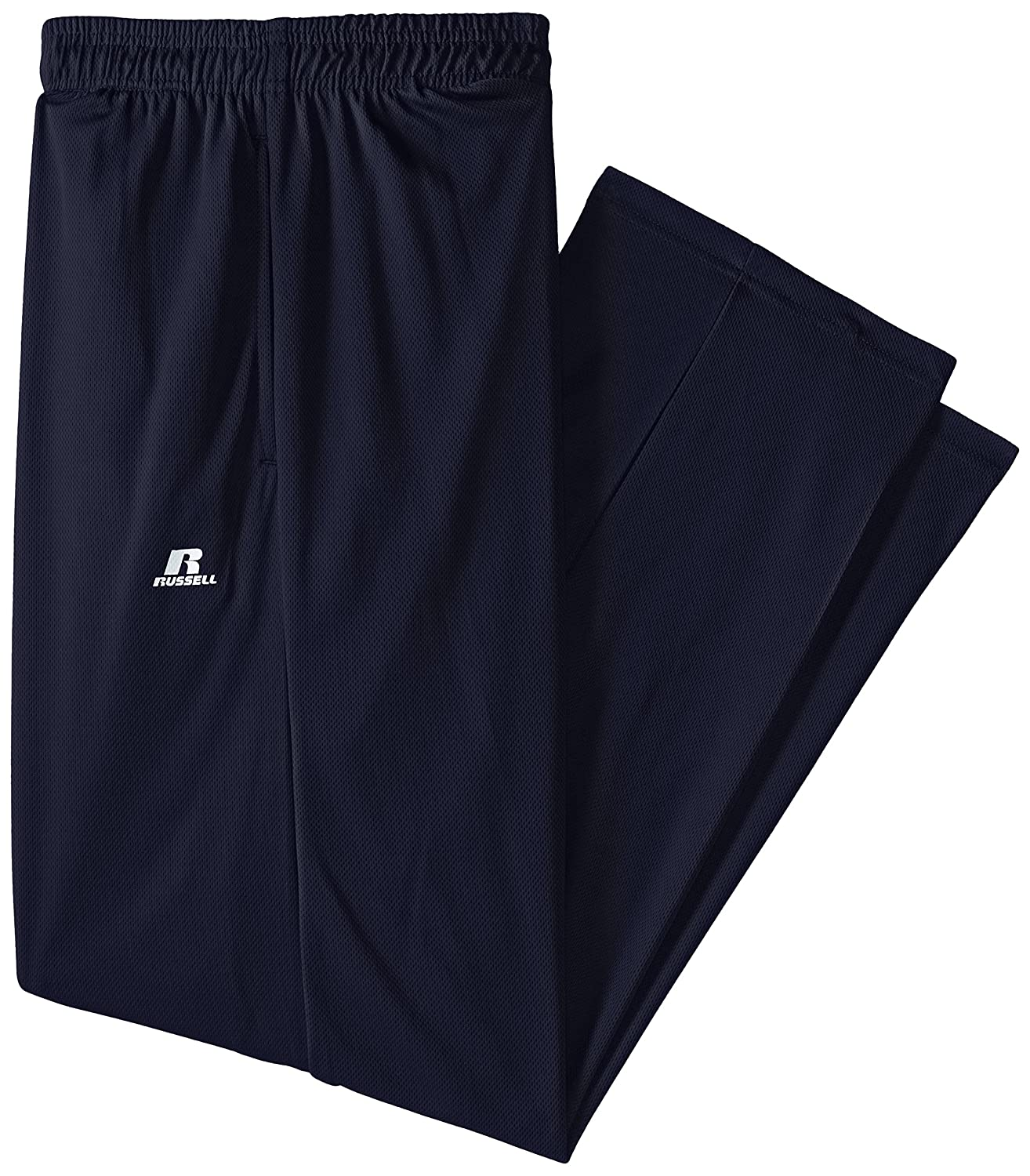 Russell Athletic Men's Big-Tall Solid Dri-Power Pant, Navy, Large Tall RDPP195