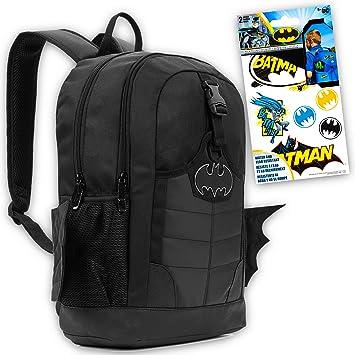 "Batman The Dark Knight All Over Print 16/"" Backpack Book Bag Youth Boys DC Comics"