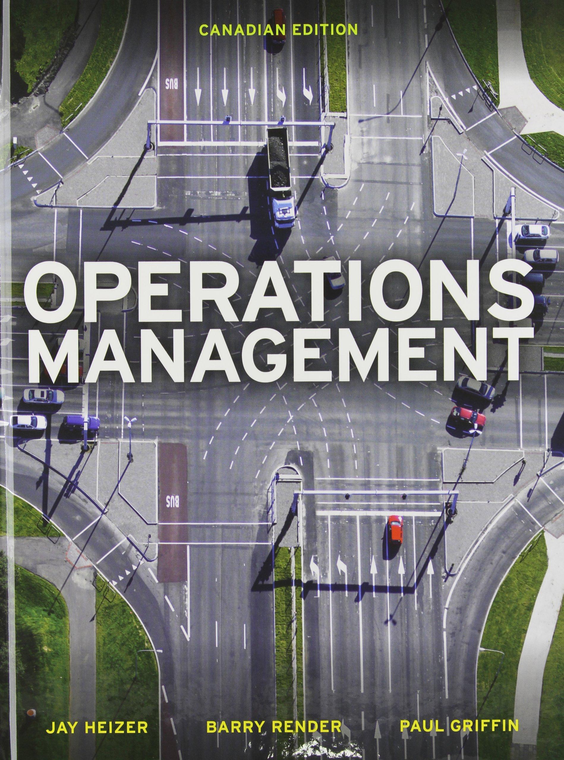 Operation Management Pearson Pdf