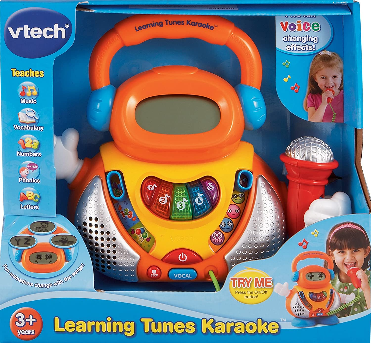 Amazon VTech Learning Tunes Karaoke Toys & Games