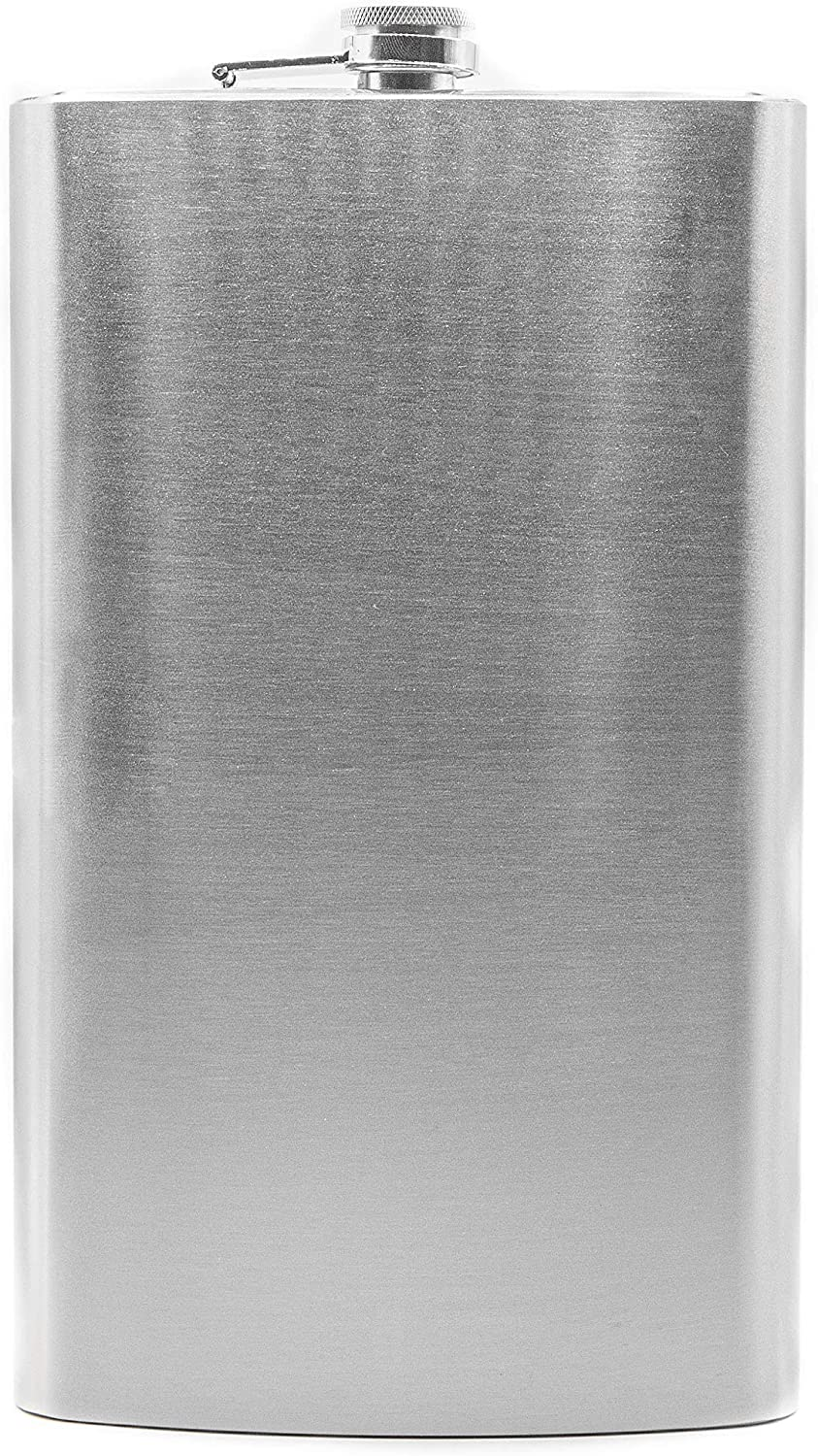 Jumbo 64 Oz Alcohol Liquor Flask Made from 304 (18/8) Food Grade Stainless Steel