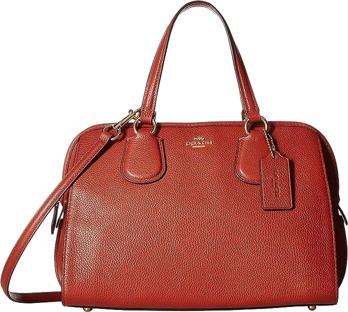 COACH 蔻驰 Nolita 女式手提包 3.4折$99.99 海淘转运到手约¥780