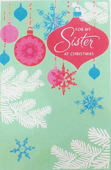 for my sister at christmas greeting card thank you for all the wonderful - What To Get My Sister For Christmas