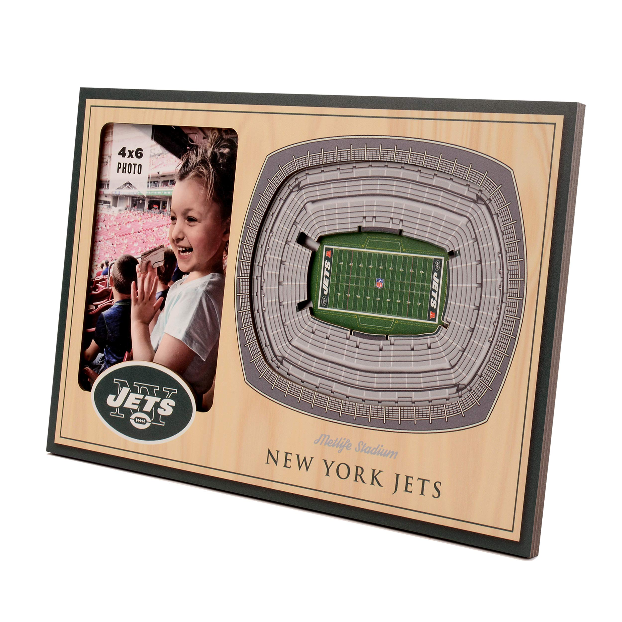 NFL New York Jets 3D StadiumViews Picture Frame by YouTheFan