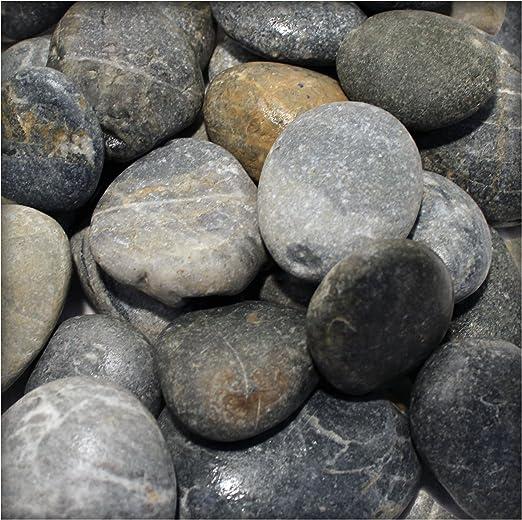 Piedras de Río Ornamentales Grava River Pebbles gartenkies piedras decorativas) para vías y Estanque: Amazon.es: Jardín