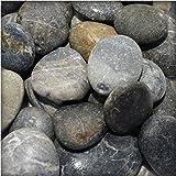 Flusskiesel Zierkies River Pebbles Gartenkies Ziersteine für Wege u. Gartenteich 5 kg Sack