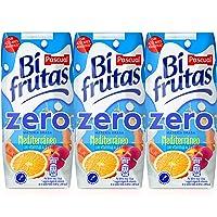 Bifrutas Mediterráneo refresco con Leche y Zumo de Frutas - Pack de 3 x 33 cl