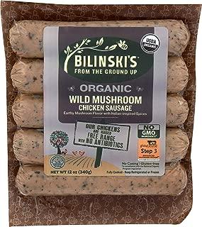product image for Bilinski, Organic Wild Mushroom Chicken Sausage, 12 Ounce