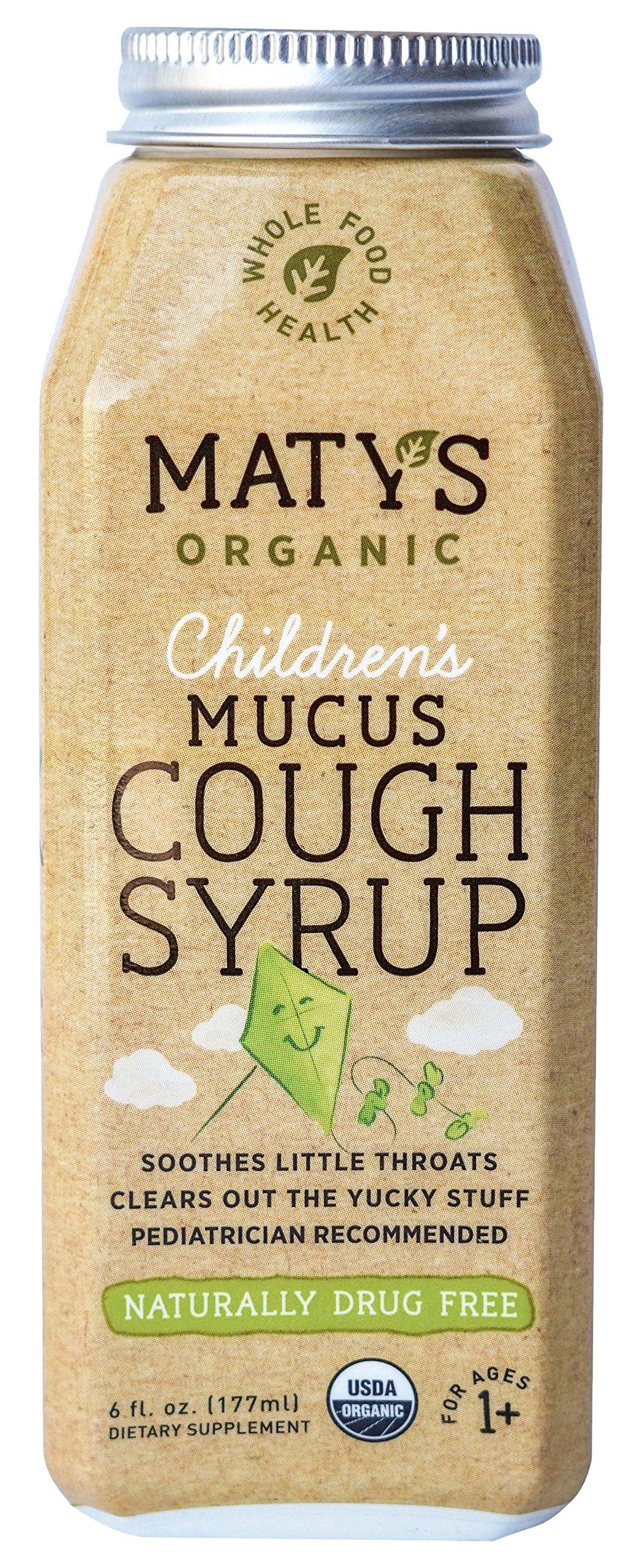 Matys Organic Children's Mucus Cough Syrup, 6 Fluid Ounce