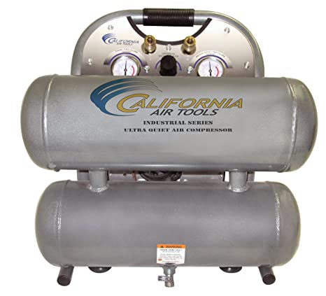 California Air Tools 4610 alfc Ultra silencioso, sin aceite y ligero 1.0 HP compresor de