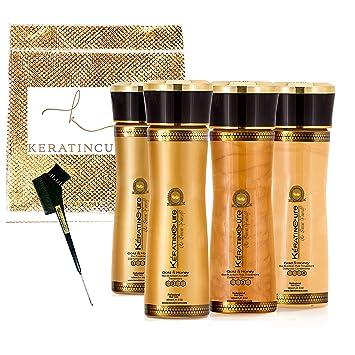 Amazon.com: Keratin Cure – mejor tratamiento de oro y miel ...