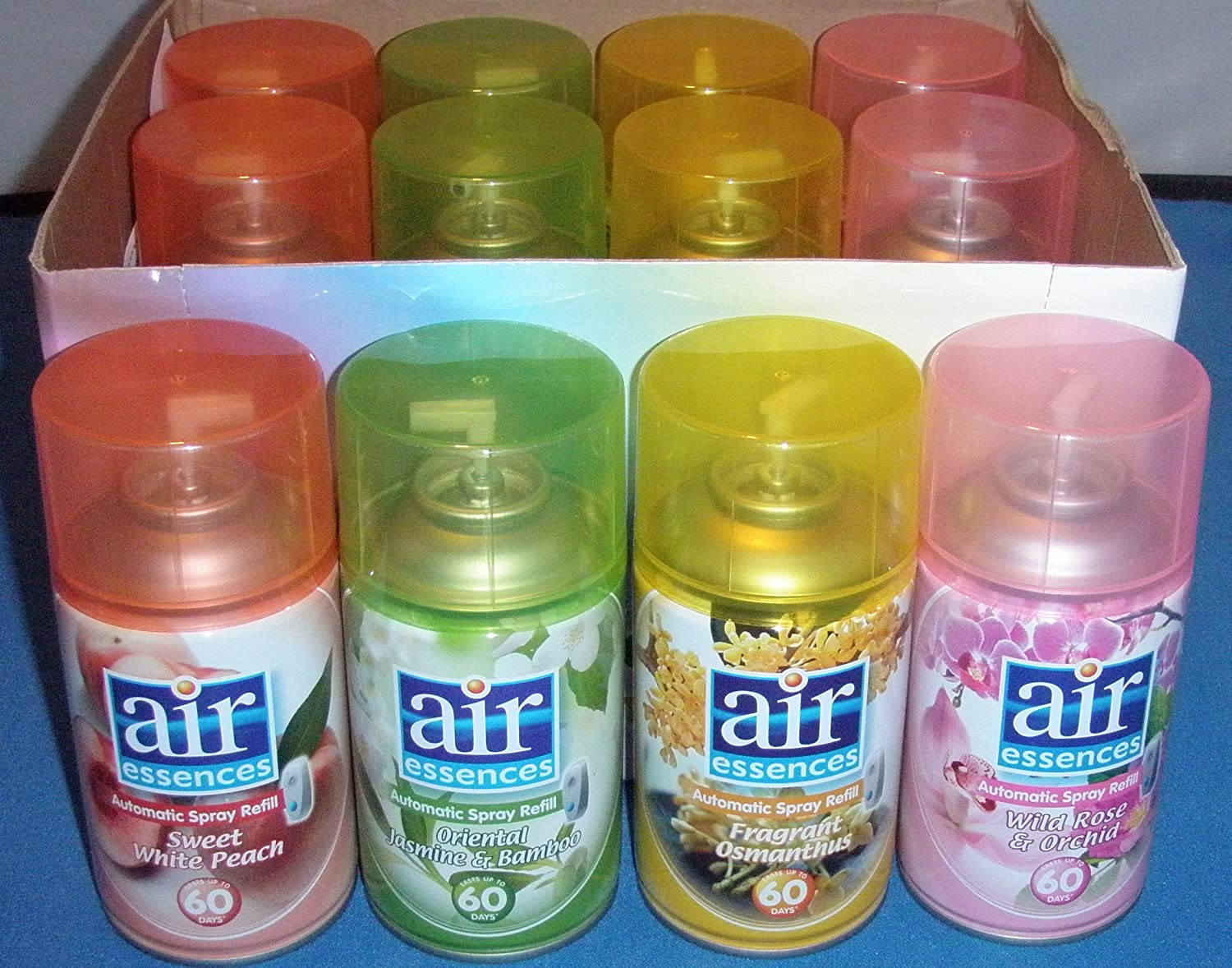 12x Exotic Scent Refills for Airwick Freshmatic...Truly Gorgeous...Including Fragrant Osmanthus