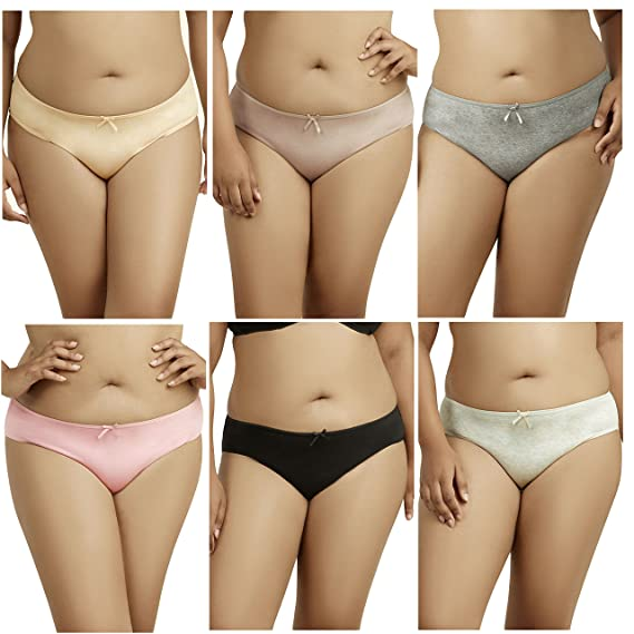 Women/'s Plus Size Seamless High-Waisted Girdle Panties Briefs Cut Brief
