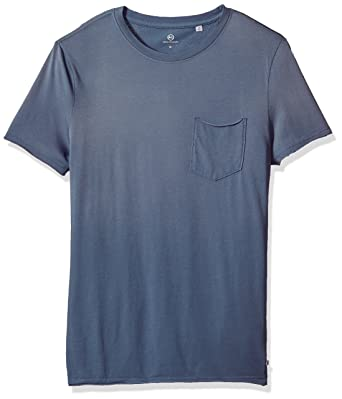 00f1bdcffd1fdd Amazon.com: AG Adriano Goldschmied Men's Anders S/s Pocket Crew in Sun Faded  Riviera: Clothing