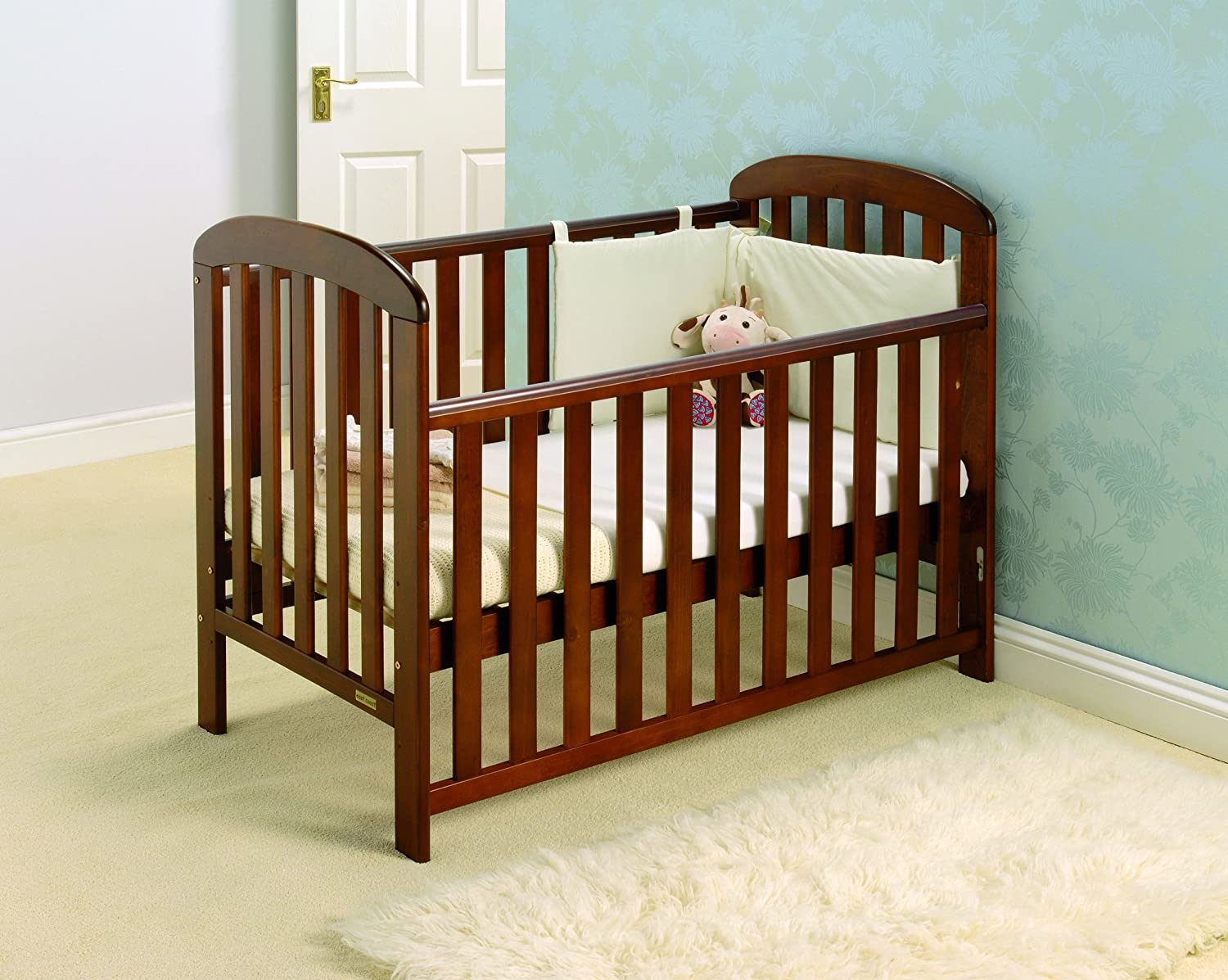 East Coast Anna Dropside Cot (White) 4366