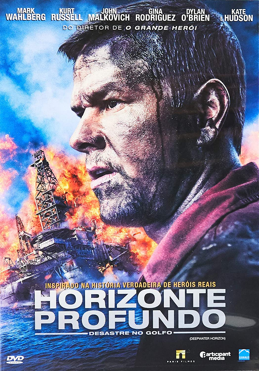 Horizonte Profundo: Desastre No Golfo Bd: Mark Wahlberg, Dylan O'Brien,  Kate Hudson, Peter Berg: Amazon.com.br: DVD e Blu-ray