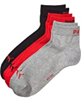 Puma Mens Pack Of 3 Pairs Of Cotton Rich Socks