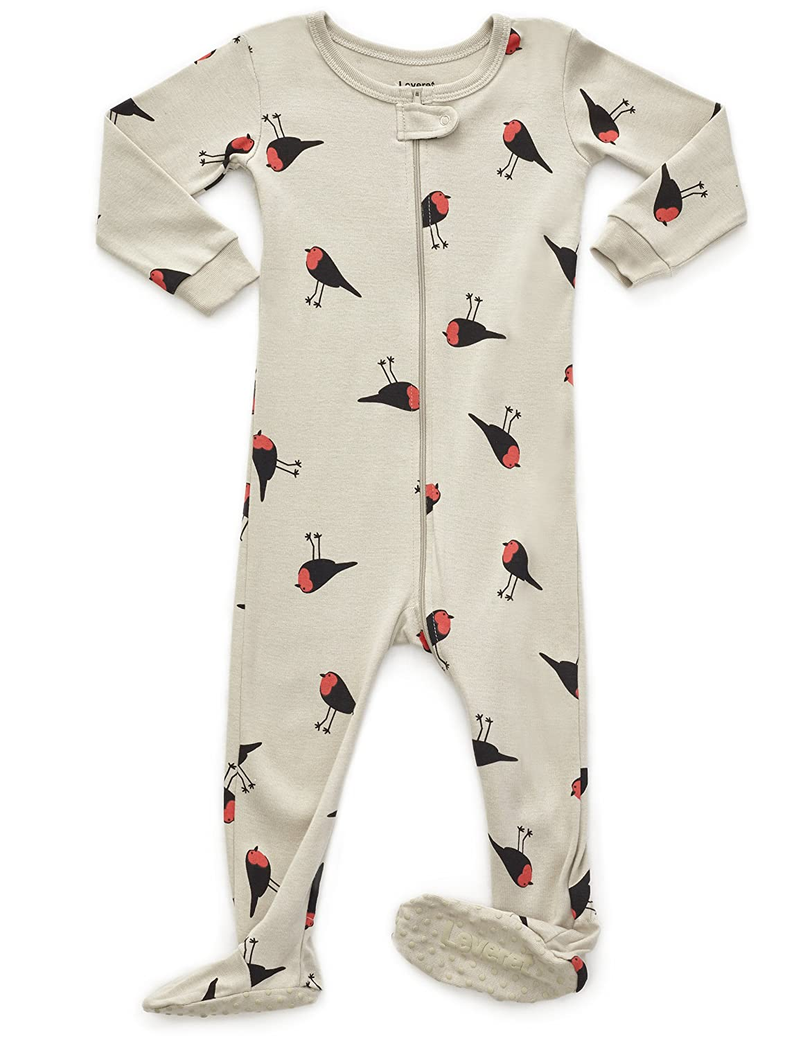 e26d362e9984 Amazon.com  Leveret Baby Girls Footed Pajamas Sleeper 100% Cotton ...