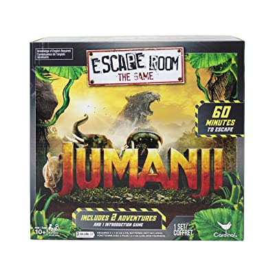 Cardinal Games Jumanji Escape Room Game, Multicolor: Toys & Games