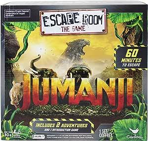 Cardinal Games Jumanji Escape Room Game: Amazon.es: Juguetes y juegos