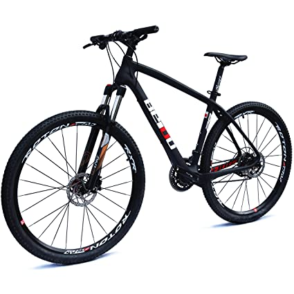 cdeb12453 BEIOU Carbon 29 Inch Mountain Bike 29er Hardtail Bicycle 2.10