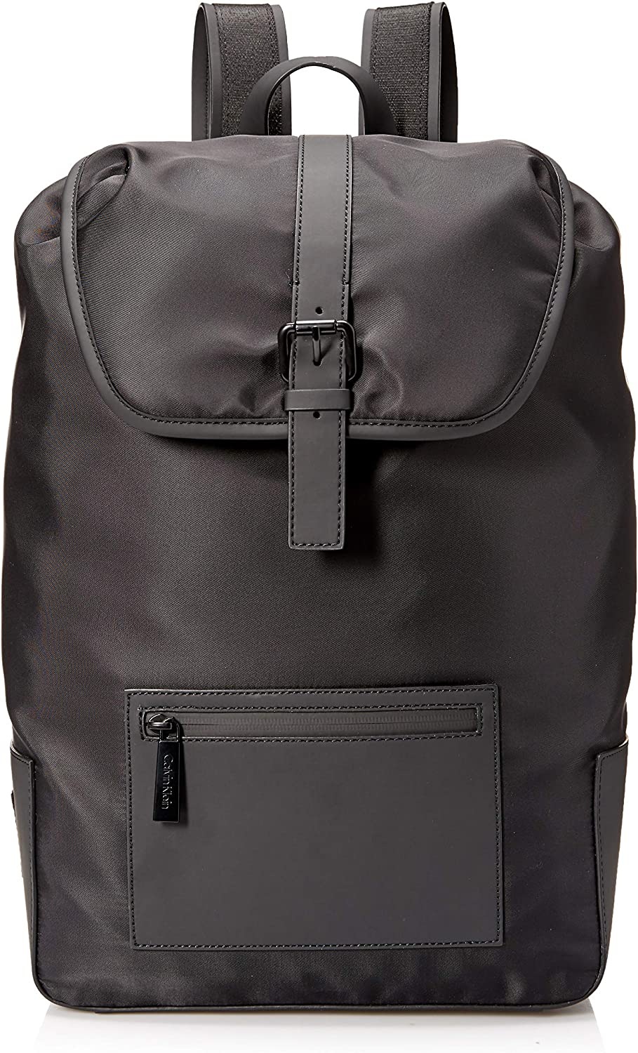 Calvin Klein Men's Nylon Flap Backpack