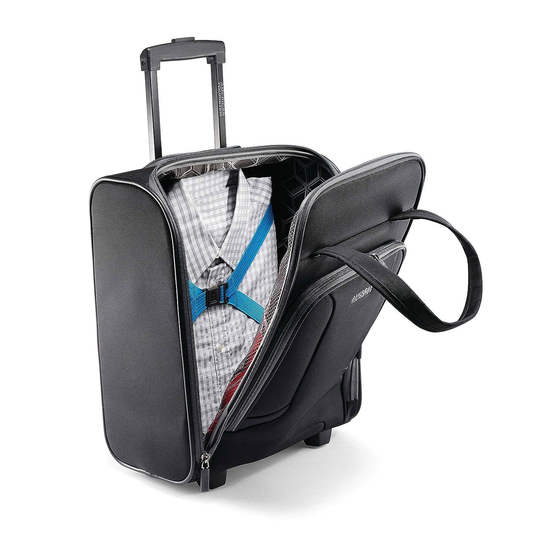 Amazon.com: American Tourister 4 Kix Rolling bolsa de viaje ...