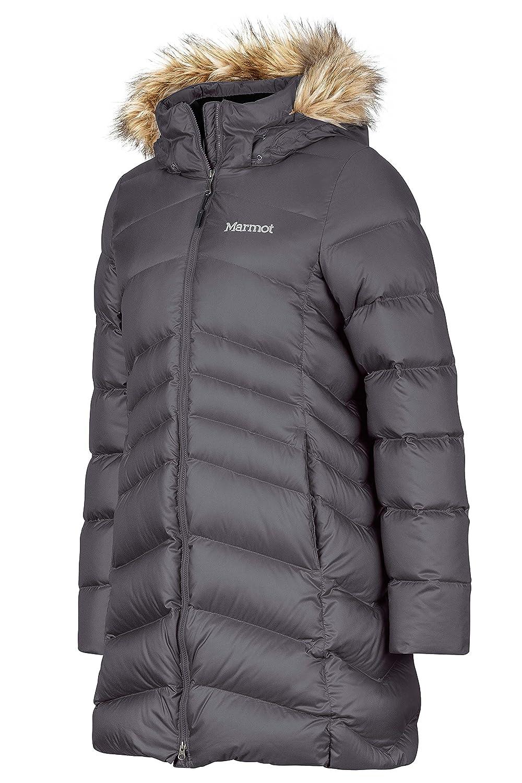 4b72be7c487ef Amazon.com  Marmot Montreal Women s Knee-Length Down Puffer Coat ...
