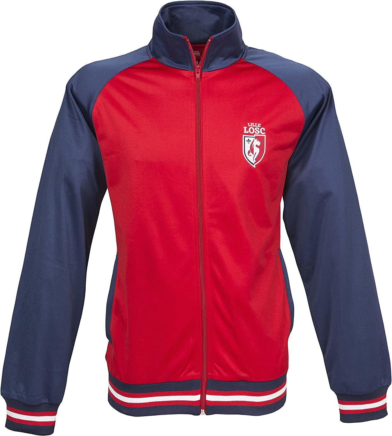 Lille OSC Veste Zip LOSC - Collection Officielle