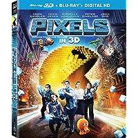 Pixels [Blu-ray 3D + DVD + UltraViolet] (Bilingual)