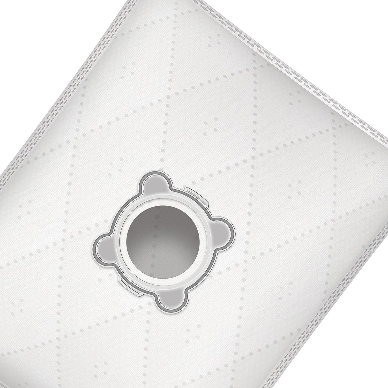 Bolsas de aspiradora para Rowenta silence force 2200w 4 piezas, sint/éticas