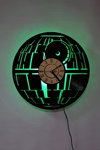 Star Wars Night Light Wall Lights Wall Lamp Star Wars Wall Clock Cool Rest Room Wall Art Decor Green Amazon Com