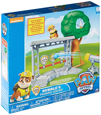 Amazon.com  Paw Patrol - Rubble s Training Center  Toys   Games e3d84b55c9