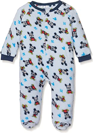 3-24 Months Disney Baby Boys Mickey Mouse Long Sleeved Romper