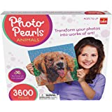 Goliath 35875 Photo Pearls Animal Assortment - Picture Assembly Kit (3600Piece), Multicolor