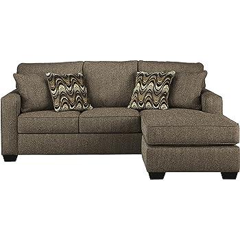 Amazon Com Benchcraft Tanacra Contemporary Upholstered
