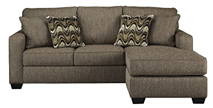 Benchcraft - Tanacra Contemporary Upholstered Sofa Chaise - Tweed