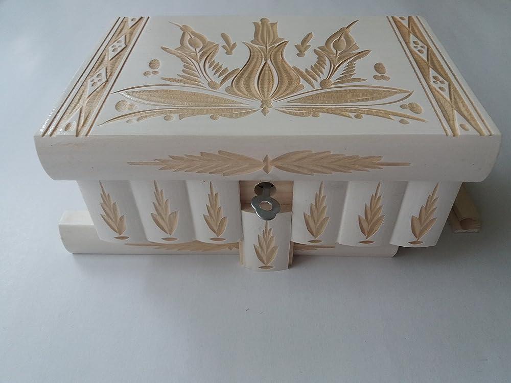 Nuevo gran caja puzzle de color blanco rompecabezas de madera ...