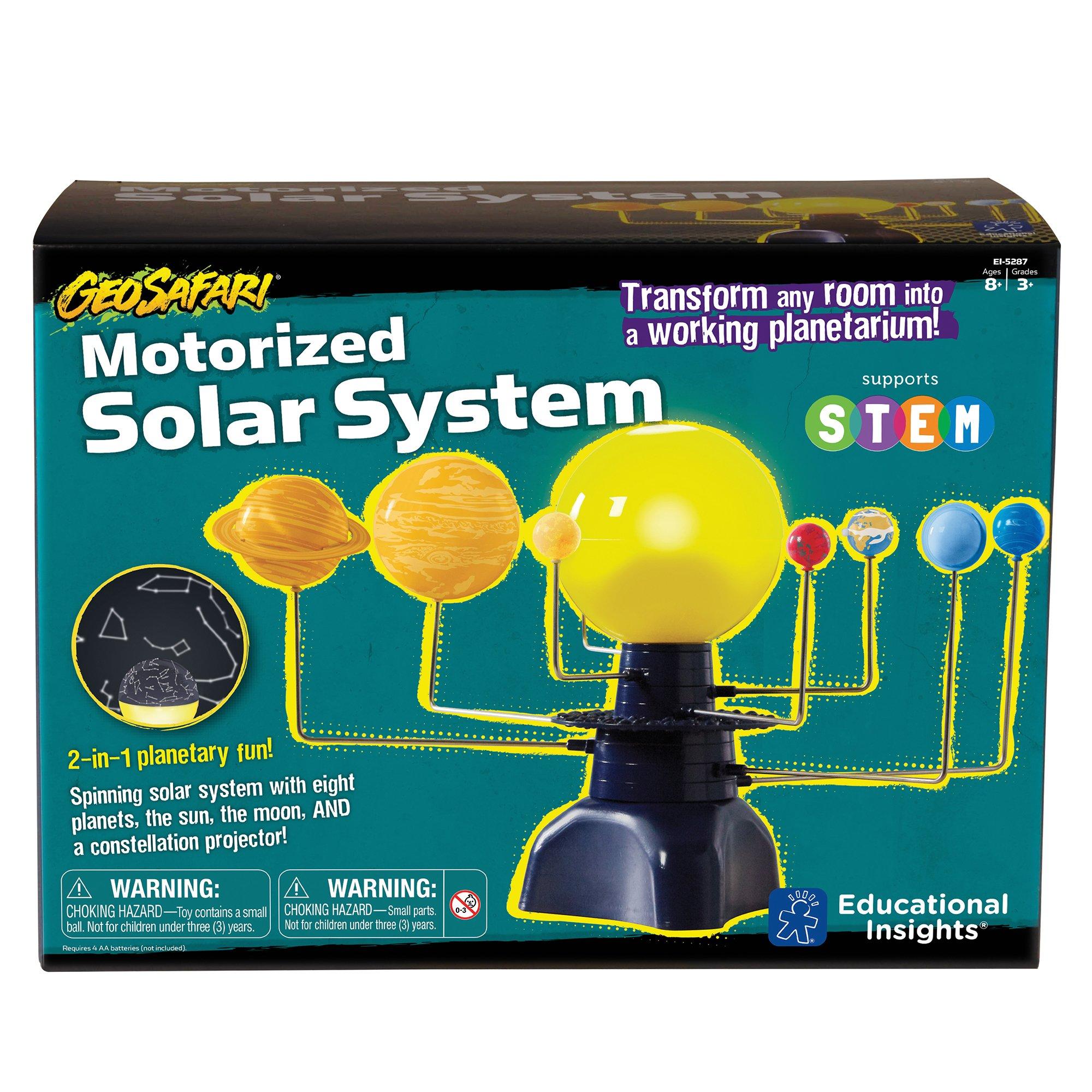 Educational Insights Geosafari Motorized Solar System Science Kit by Educational Insights (Image #4)