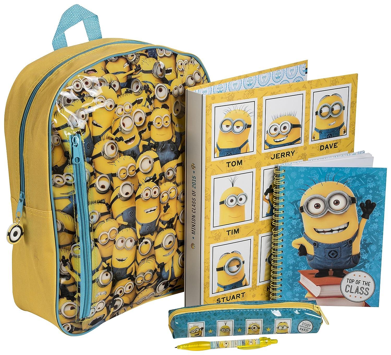 Gran relleno de mochila/bolso bandolera/carteras/cartera monedero de Gru: Amazon.es: Juguetes y juegos