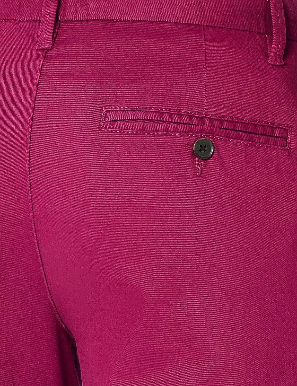 MERAKI Mens Cotton Regular Fit Chino Trousers