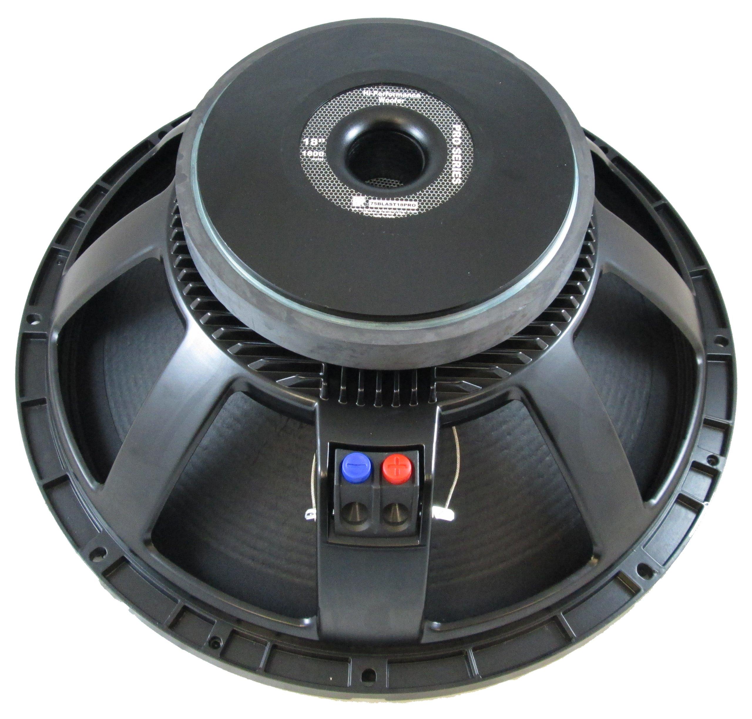 Blast King I75BLAST18PRO 18-Inch 1800 Watt High Performance Woofer