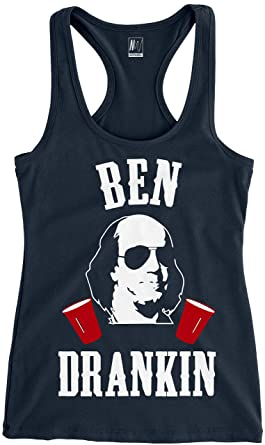 3846fd5a0526b Amazon.com  Ben Drankin 4th of July Tank Top Navy Blue by NoBull ...