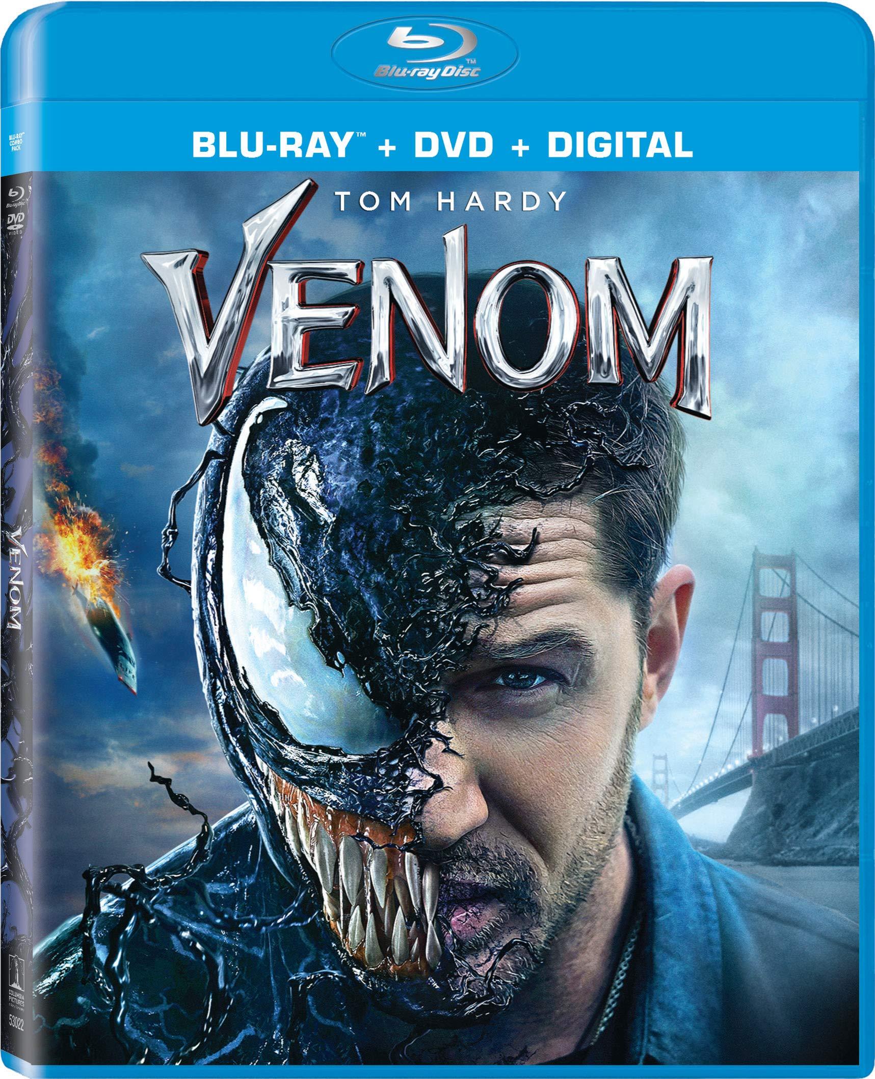 Blu-ray : Venom (With DVD, 2 Pack, Digital Copy)