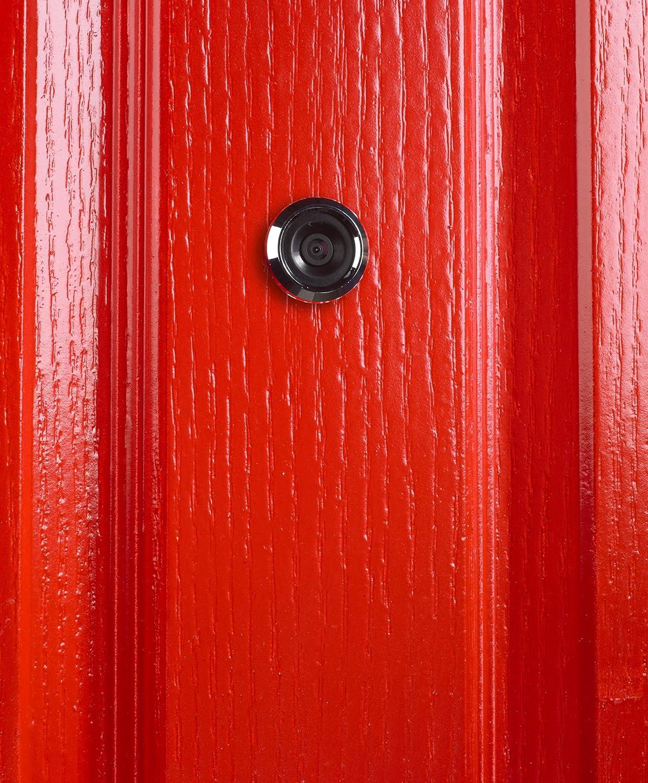 Yale Security AYRD-DDV8032-693 Digital Door Viewer Small Black - - Amazon.com & Yale Security AYRD-DDV8032-693 Digital Door Viewer Small Black ...