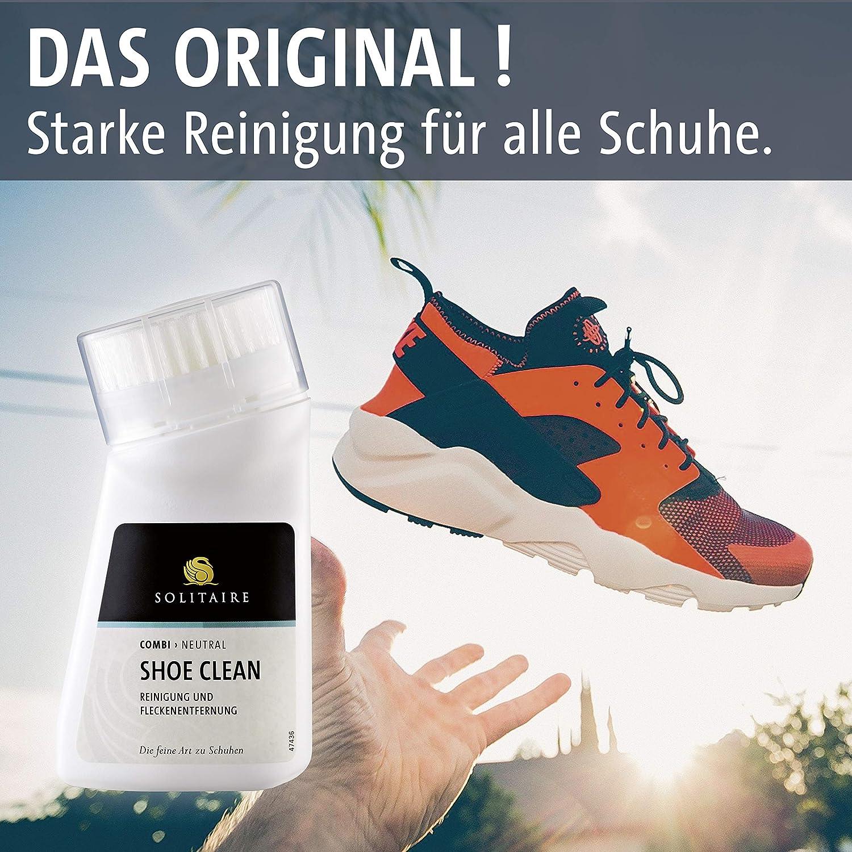 Solitaire Shoe Clean Reinigung und Fleckentfernung für Schuhe mit Bürste