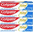 Colgate Total Whitening Gel Toothpaste, 4.8 ounce - 4 pack