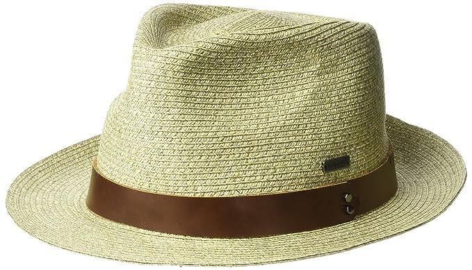 3eadf3099d5d8 Kangol Men s Waxed Braid Trilby Fedora Hat  Amazon.co.uk  Clothing